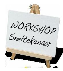 Workshop sneltekenaar